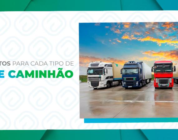 Os implementos para cada tipo de carga e caminhão